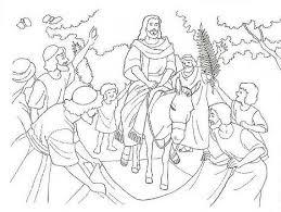 A entrada triunfal de Jesus em Jerusalém
