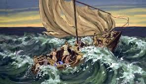 O barco com Jesus 4