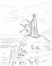 A tentação de Jesus. 1