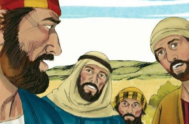 Os discípulos escandalizados